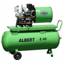 Винтовой компрессор Atmos Albert E 40 с ресивером и осушителем